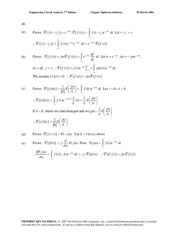 Chapter 18 solutions_to_exercises(engineering circuit