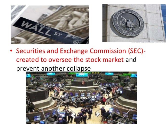 The use of the securities and exchange commission the agricultural adjustment act and the social sec