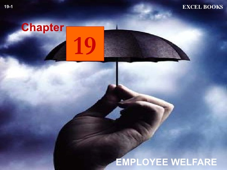 EMPLOYEE WELFARE Chapter EXCEL BOOKS 19-1 19
