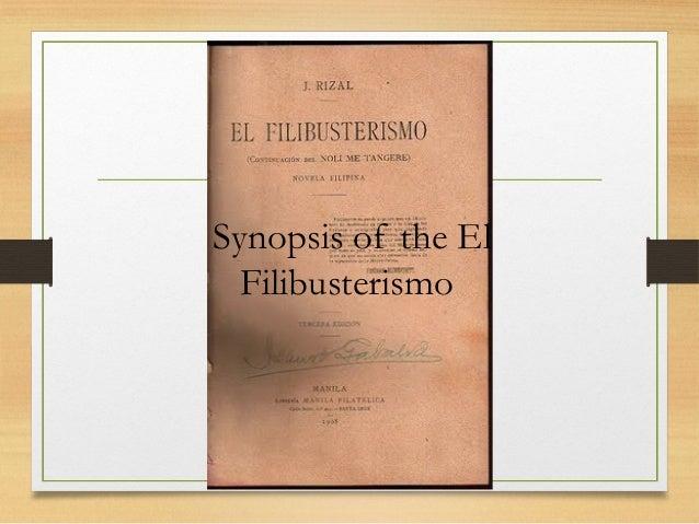 reactions on the book el filibusterismo Gerardo de leon ilagan b  the two gerrys few figures in cinema inspire such uniquely contradictory reactions as filipino  and el filibusterismo.