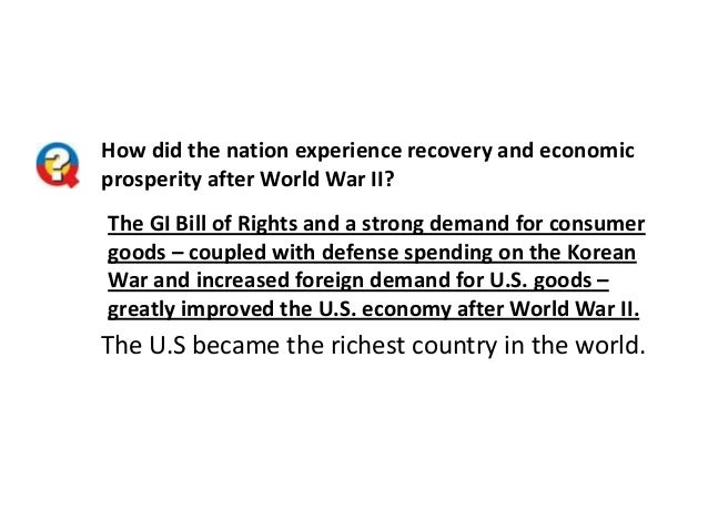 What were the economic costs of World War 2?