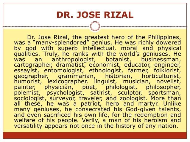 jose rizal autobiography pdf