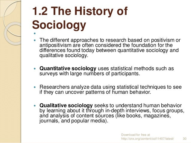 An Introduction to Quantitative Research Methods in History