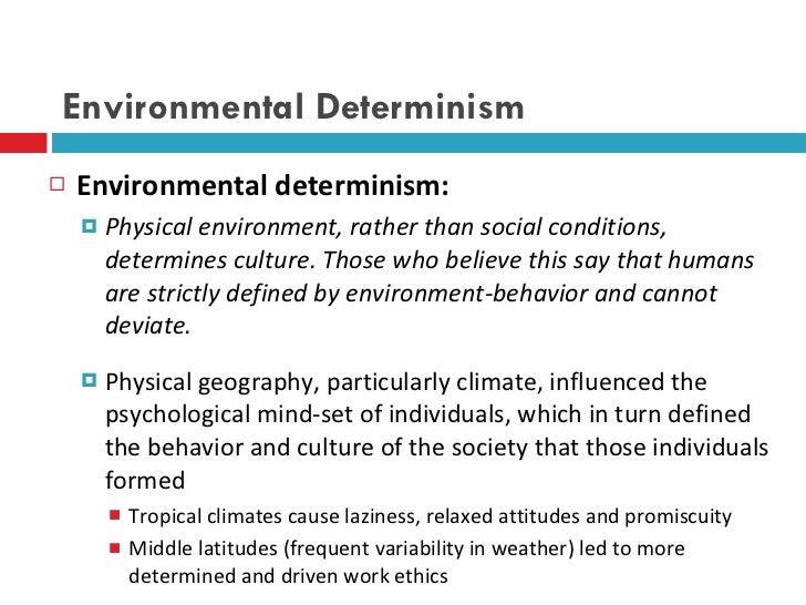Environmental possibilism theory ebook.