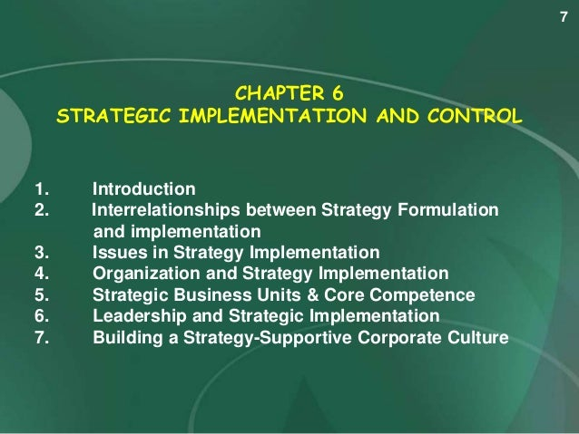 chapter six strategy formulation situation analysis Chapter 6 mgmt 480 uploaded c) strategic evaluation d) objective analysis e) situational analysis answer: e diff: 1 page ref an acronym for the assessment of the external and internal environments of the business corporation in the process of strategy formulation/strategic.