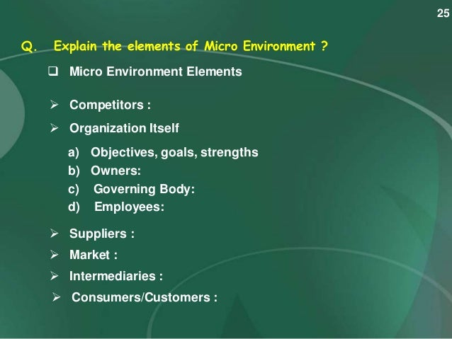 project one elements of business environment Ecoefficiency is the term used by some businesses to describe their goal with respect to the environment the world business  one third the material.