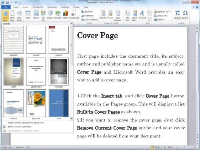 pages microsoft