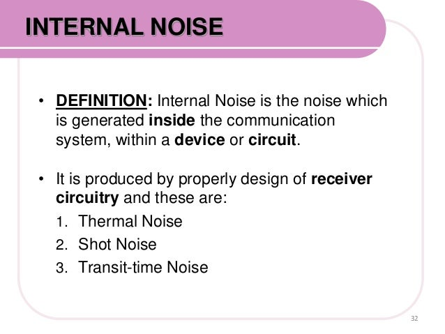 noise pollution internal and external Context layers of internal noise are often complicated by the presence of external noise factors audible noise, such as a jackhammer splitting a sidewalk outside of an office building, represent external noise.