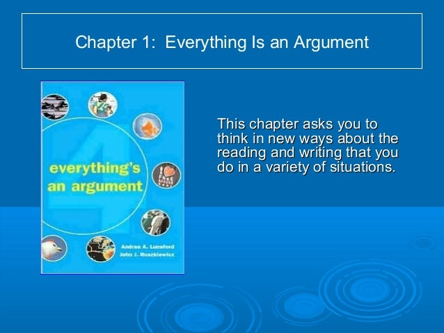 everythings an argument ch 6
