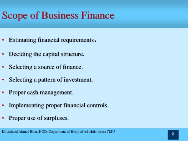 corporate finance slides chapter one Chapter 1 the role and environment of managerial finance 5 about 15 percent of all businesses are incorporated, the corporation is the domi-nant form of business organization in terms of receipts and profits.