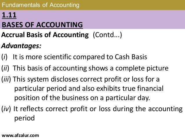 Chapter 1: Fundatals of Accounting