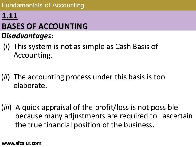 Chapter 1 Fundamentals Of Accounting