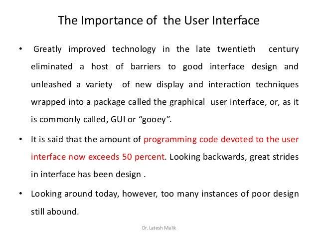 Interface Design Benefits Of Good User Interface Design
