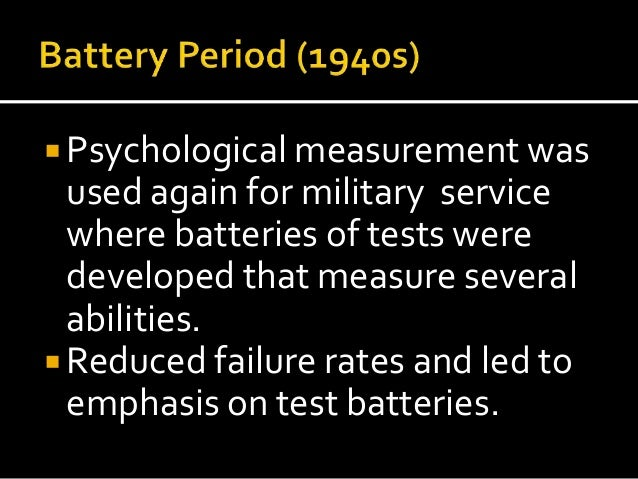 criticisms of psychological testing Limitations of neuropsychological testing to predict the cognitive and behavioral  controversies in neuropsychology  dr williams reviews american psychological association standards to demonstrate specific.