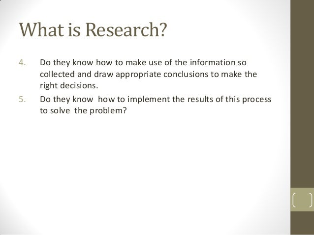 Introduction to Research in Library and Information Science