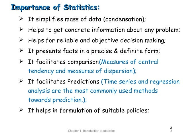 explain the role of statistics in research The roles of research and statistics in organizational research and statistics play a huge role in research and statistics in organizational psychology.
