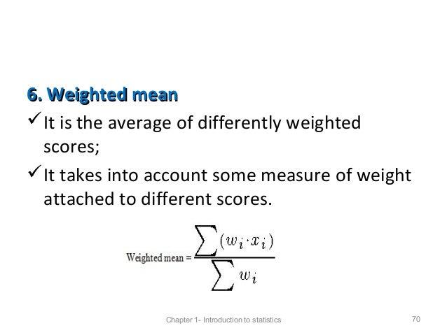 weighted mean formula wwwpixsharkcom images