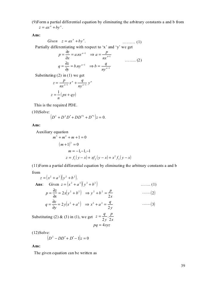 Transforms And Partial Differential Equations Pdf