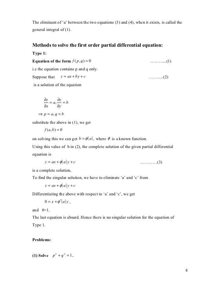 Chapter 1 (maths 3)
