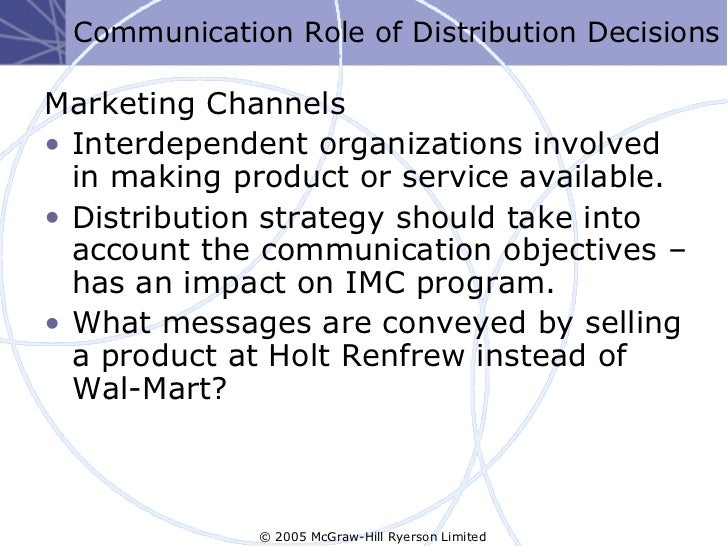 the benefits of integrated marketing communications to organizations Marketing communications uses different marketing channels and tools in  combination: marketing.