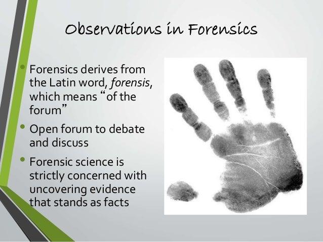Chapter 1 Observation Skills