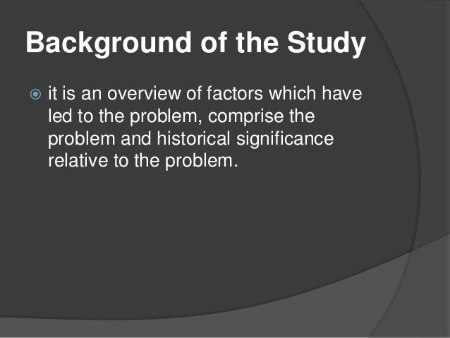 Thesis statement A systematic review of the literature on multidisciplinary rounds to design information technology