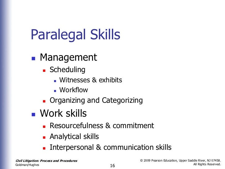 paralegal employable skills Learn about skills you must have to succeed as a paralegal mastering these can help you in the workplace and advance in the legal market.