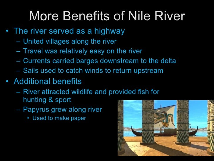 an overview of the nile river of the egyptian civilization This includes egypt's movement from a historical position of regional dominance, to being under the influence of european and russian powers, to once again becoming a regional power (oct 21) ancient egypt overview the basic element in the lengthy history of egyptian civilization is geography the nile river.