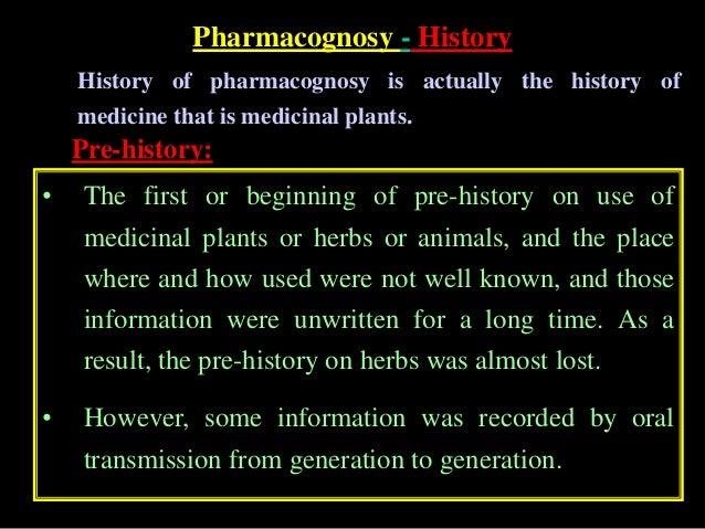 Chapter 1 pharmacognosy introduction