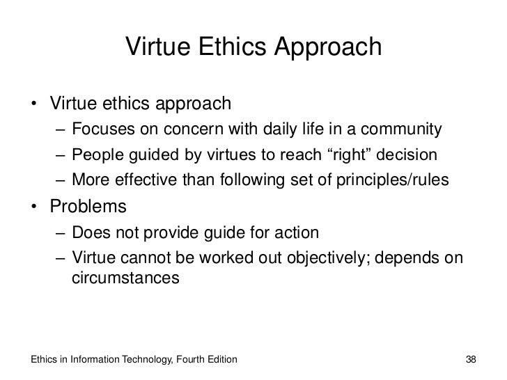 Ethics advanced.