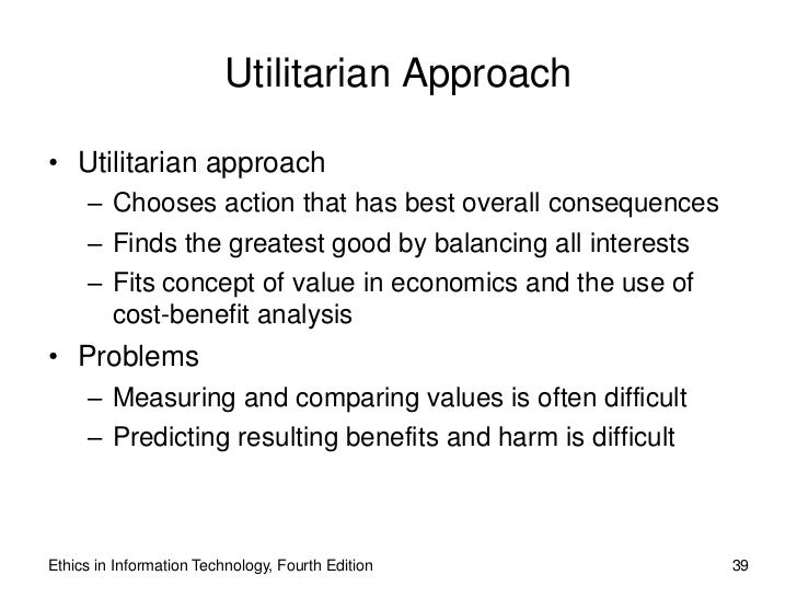 utilitarian ethics Start studying utilitarianism ethics learn vocabulary, terms, and more with flashcards, games, and other study tools.