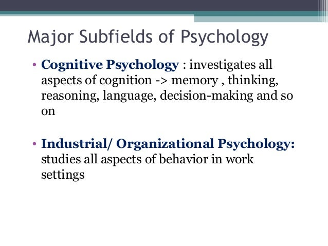 Impact of schools of thought in industrial organizational psychology