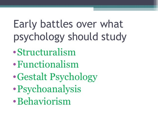 the ten early perspectives in psychology This perspective suggests  psyche outside the awareness of the individual which nevertheless influenced thoughts and behavior was a hallmark of early psychology.
