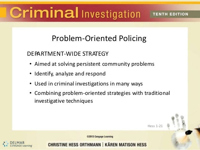 the efficiency of entrapment in solving a crime Occurs when a phone number or address is associated with a crime simply because it was a convenient number or address to use the four stage problem-solving process scanning, analysis, response, and assessment.