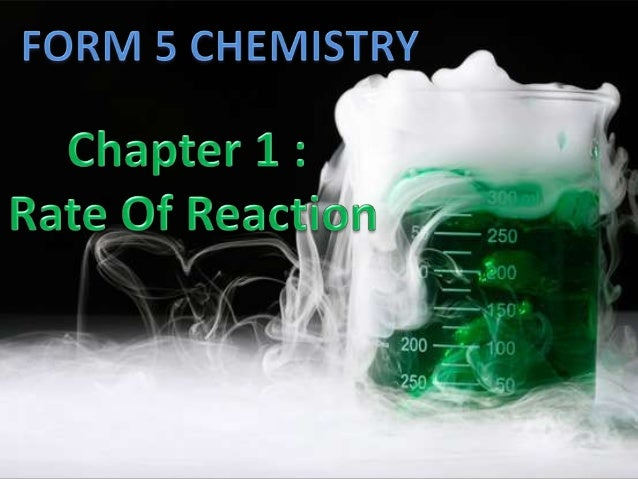 Rate of reaction Rate of reaction is the measurement of  the speed which reactants are converted into  products in a chem...