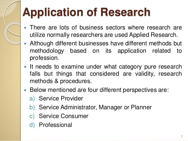 applications of research methodology Deep learning: methods and applications is a timely and important book for researchers and the authors have been actively involved in deep learning research and.
