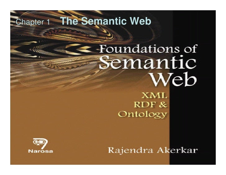 Chapter 1   The Semantic Web