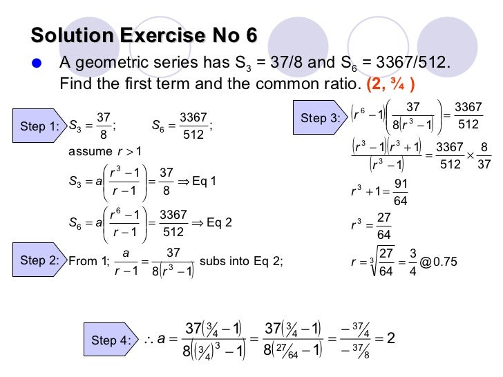 Chapter 1 sequences and series