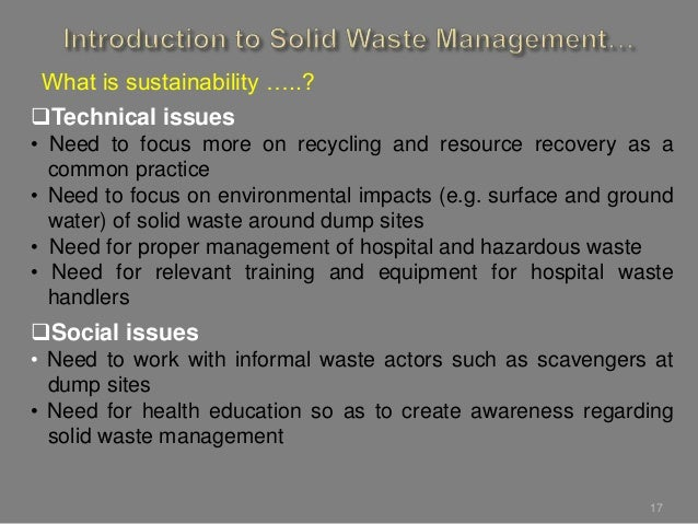 implementation on solid waste management of boarding houses essay Incinerating and building waste pits on the school grounds can only be done by schools with no education in new zealand waste management in schools.