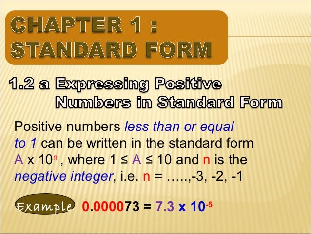 Chapter 1 Standard Form 43 638gcb1384896558