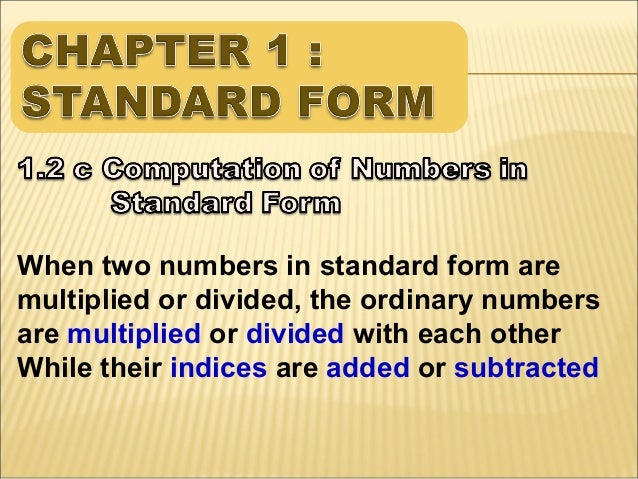 Chapter 1 Standard Form 69 638gcb1384896558