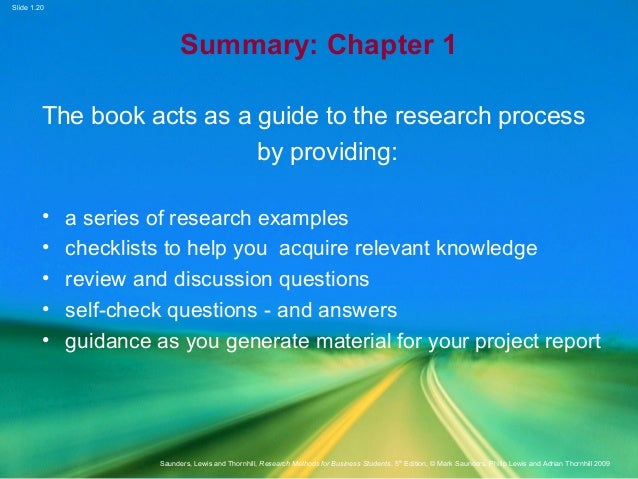research methods for business students 5th edition pdf