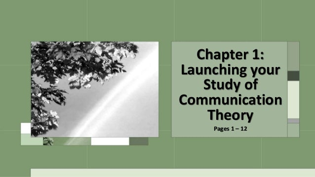 a first look at communication theory 8th edition free pdf