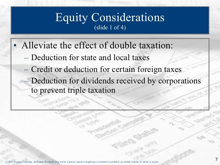 Foreign tax credit stock options
