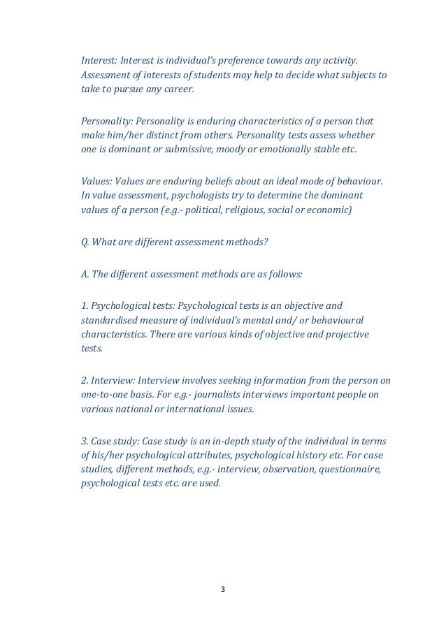 Chapter 1 variations in psychological attributes