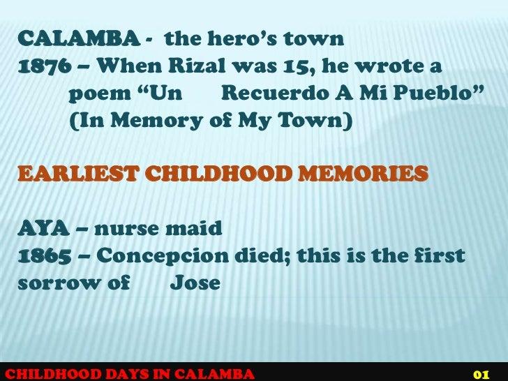 Jose Rizal's Poems
