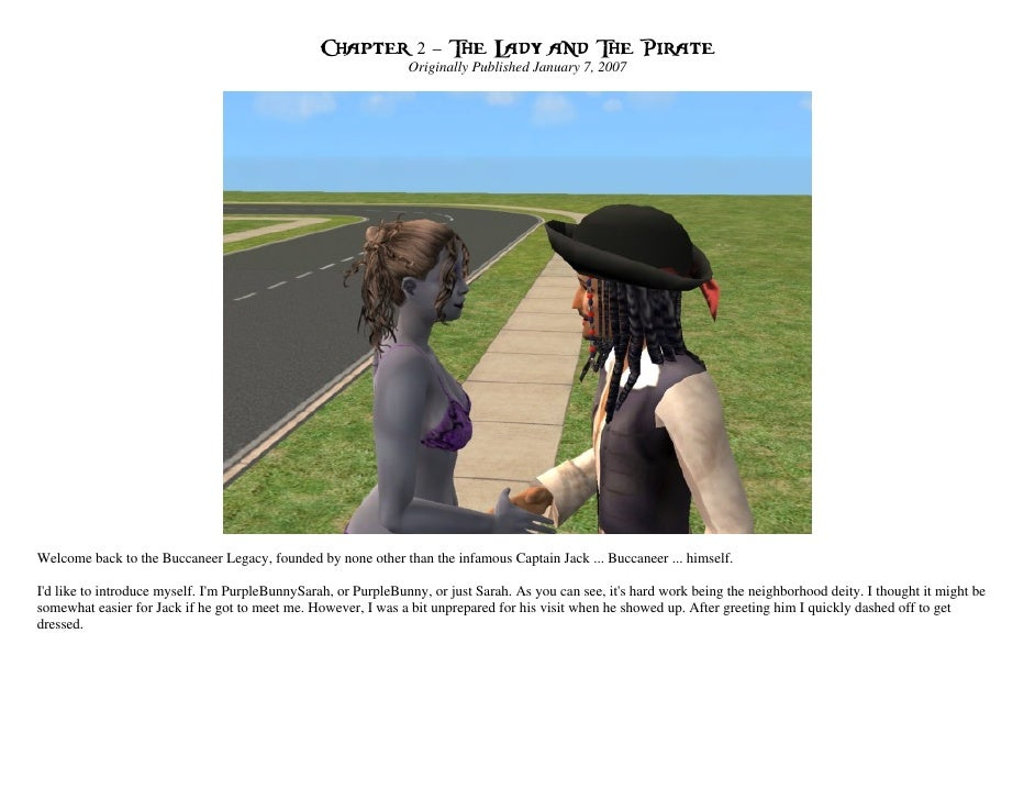 Chapter 2 – The Lady and The Pirate                                                                Originally Published Ja...