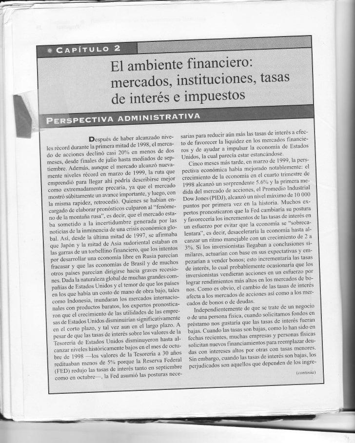 fundamentos de administracion financiera scott besley pdf