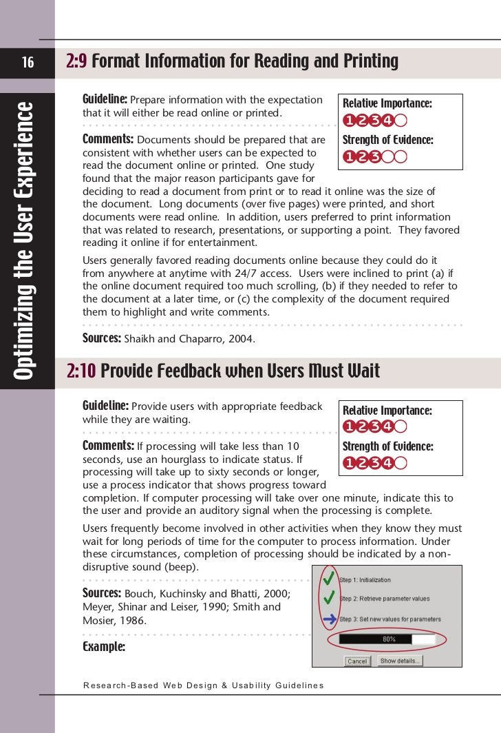 16                   2:9 Format Information for Reading and Printing                                   Guideline: Prepare ...