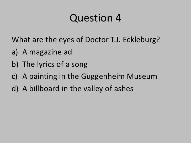 tj eckleburg billboard